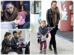 Jessica Alba and Cash Warren Christmas Shop With Their Girls