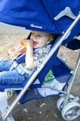 Joovy Groove Stroller - canopy