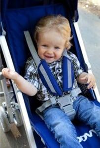 Joovy Groove Stroller - seat