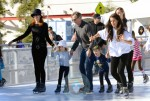 Marcia Cross and Tom Mahoney with their daughters Eden and Savanna 2