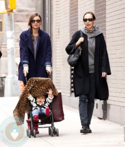 Miranda Kerr and Flynn Bloom in NYC
