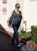 Pregnant Rebecca Gayheart out in LA 2