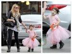 Sarah Michelle Gellar with daughter Charlotte in LA