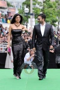 Shilpa Shetty and husband Raj Kundra at TIFF