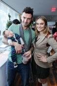 Spencer Grammer and husband James Hesketh with son Emmett Emmanual Hesketh