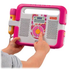 Kid-Tough Music Player With Microphone ~ A Christmas Must- Have for Your Little Music Lover