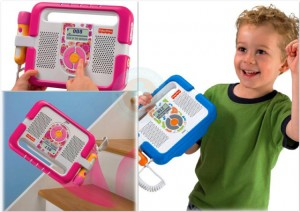 fisher-price kid tough music player
