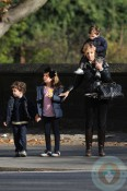 Elisabeth Hasselbeck with kids Isaiah, Taylor and Grace Hasselbeck