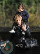 Elisabeth Hasselbeck with son Isaiah