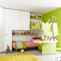 Incredible Kid's Loft Beds ~ Battistella Klou XL