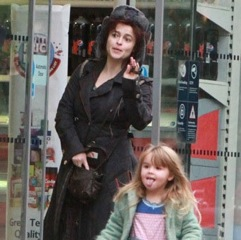 Helena Bonham Carter and daughter Nell Shop in London!