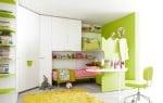 Battistella Klou Xl loftbed green