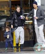 Ellen Pompeo with daughter stella - coffee run