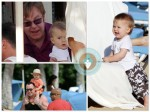 Elton John and David Furnish vacation in Hawaii with Zachary