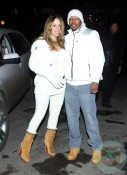 Nick Cannon and Mariah Carey on NYE