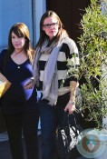 pregnant moms Jennifer Garner and Marla Sokoloff in LA