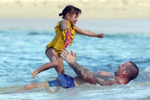 Graham and Ava Quinn in Barbados