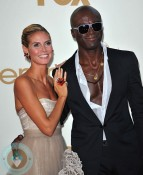 Heidi Klum and Seal walk the red carpet