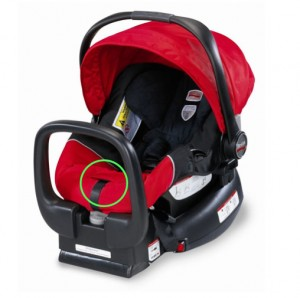 Image of recalled Britax Chaperone