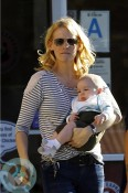 January Jones and her son Xander out in LA 2