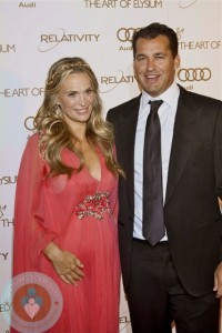 Molly Sims & Scott Stuber at The Art of Elysium's 5th Annual Heaven Gala