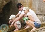 Naomi Watts and Liev Schreiber with their son Sammy in Australia