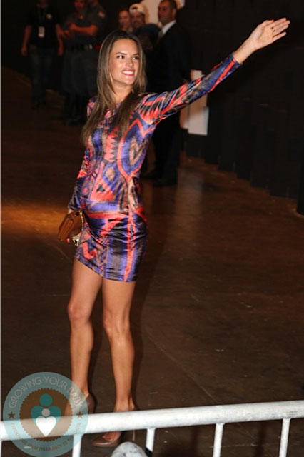 Pregnant Alessandra Ambrosio Walks The Runway In Sao Paolo