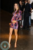 Pregnant Alessandra Ambrosio Walks The Runway in Sao Paolo -5
