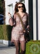 Pregnant Alyson Hannigan gets her hair done in LA 2