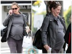 Pregnant Jennifer Garner meets friends for lunch