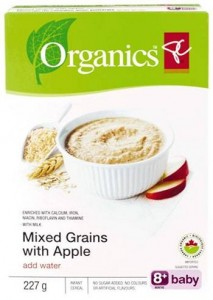 Recalled President's Choice Organics cereal