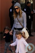 Sarah Jessica Parker with her twins Marion and Loretta - 2