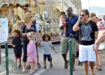 Seal and Heidi Klum vacation in St