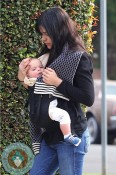 Selma Blair and son Arthur out in LA