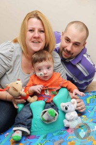 Tina and Daniel Tookey with their son Ryan