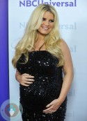 pregnant Jessica Simpson @ NBC Universal 2012 Winter TCA Tour All-Star Party