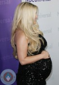 pregnant Jessica Simpson at NBC Universal 2012 Winter TCA Tour All-Star Party