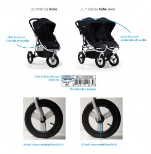 Bumbleride Indie and Indie Twin Recall image