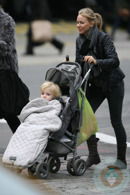 Naomi Watts out with her son Samuel Kai Schreiber in NYC