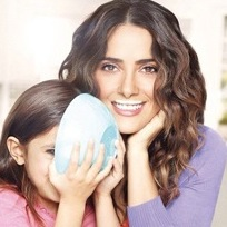 Salma Hayek & Daughter Valentina Star In 'Got Milk' Ads