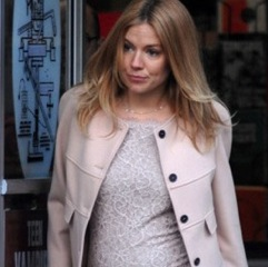 Pregnant Sienna Miller Films 'A Case Of You' in New York City