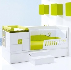 Alondra Convertible Cribs - Smart design for modern kids