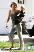 Ali Larter And Theodore Head To A Playdate in LA 2