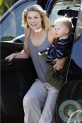 Ali Larter And Theodore Head To A Playdate in LA 3
