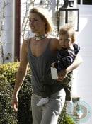 Ali Larter and son Theodore out in LA
