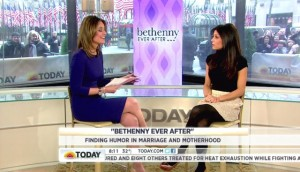 Bethenny Frankel on the Today's Show