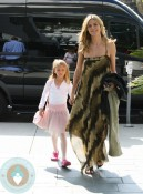 Heidi Klum with daughter Leni at Ballet