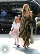 Heidi Klum with daughter Leni at Ballet