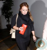 Hilary Duff Departs Madeo with sister Hailey