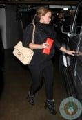 Hilary Duff leaving Madeo